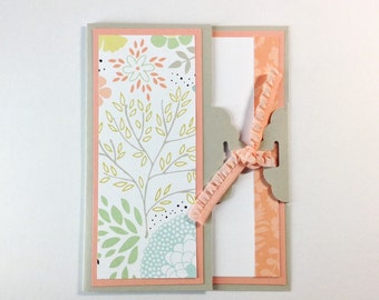 Love - I Love You Red Handmade card