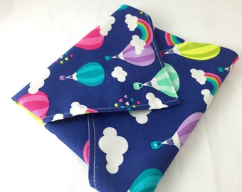 Reusable Sandwich Wrap Bag - Rainbows and Balloons