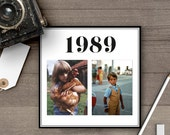 Photo Table Numbers / Photo Wedding Table Numbers / Table Numbers / Table Number Cards / Childhood Photos / Retro / Old Pictures - tn0014