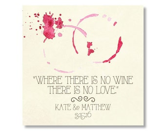 Wedding Sticker, Wedding Favor Sticker, Wedding Thank You Sticker, Wine Sticker, Winery Sticker, Winery Wedding Sticker, Wine Favor