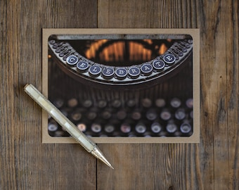 Celebrate Blank Note Cards - Typewriter Key - set of 10