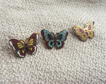 Vintage Three Little Butterfly Scatter Pins