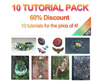 10 TUTORIAL PACK ( please see the tutorial section for each tutorial separately)