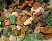Rock Tumbler Rocks Variety Mix of Stones for Tumbling Agates Jaspers Quartz 1 Pound