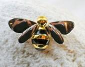 Vintage Liz Claiborne Bee Brooch Pin