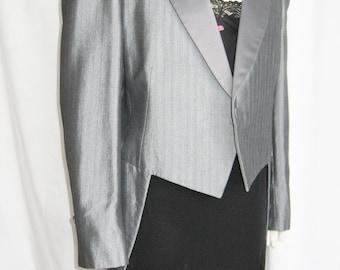 ViNTaGe Tuxedo Jacket Robert Wagner RAFFINATI Grey Formal Jacket