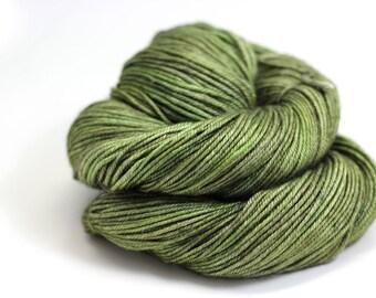 hand dyed yarn - PICHOLINE - Linden DK Yarn - superwash merino/silk