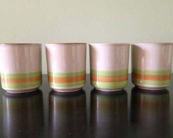 Vintage Korea Mugs /Sunny 21106