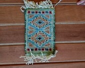 Dollhouse carpet--mini Persian style rug for a doll house