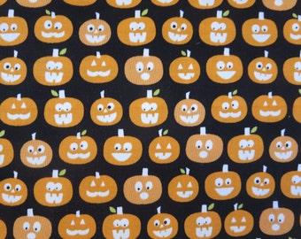GLOW In The DARK - Halloween Magic - Pumpkins GC4615-Black  - Bella Blvd for Riley Blake Designs