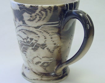 Digital Lace Mug v2.0 16oz 475ml