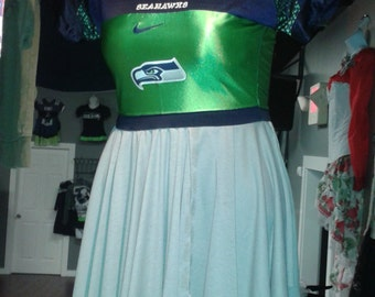 Custom made to order Seahawks jersey dress 12 man