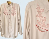 Western Rayon Shirt size L
