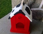 Barn Birdhouse or Birdfeeder