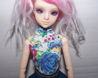 Pullip clothes - flowery halter top
