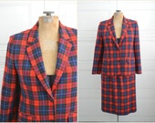 1980s Pendleton Manson Tartan Plaid Skirt Suit