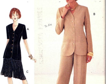 Vogue 8987 Woman Top, Shorts And Pants Sewing Pattern Size 6, 8 and 10 UNCUT