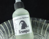 2oz Men's KRAMPUS Beard Oil, All Natural Beard Oil, Peppermint Scented, Scary Christmas Beard Conditioner, Essential Oil, Horror Austrian