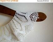 Vintage Handmade Crochet White Collar  Online Vintage, vintage clothing, home accents, vintage dress