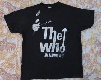 THE WHO 1989 tour T SHIRT