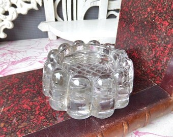 Massive  Vintage   Glass  Paper Weight.