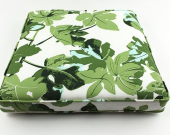 Peter Dunham Fig Leaf Cushions with Self Welting