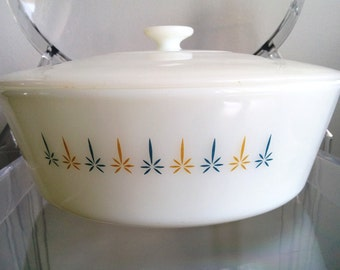 Fire King Bakeware 1960's - STARBURST collection 3L