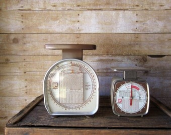 Vintage Pelouze Postal Scale - Shop Supplies - Photography Prop - Industrial Style Scale Vintage Postal Scale