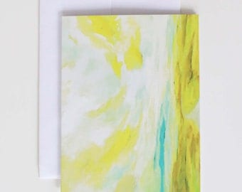 "Stationary Note Cards - Fine Art Note Card Set - Blank Note Cards - ""Returning"""