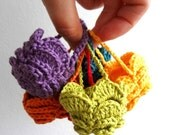 Easter Egg Crocheted Basket -  egg cozy - PDF Pattern - photo tutorial, sell what you make