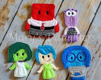 Emotions Finger Puppets