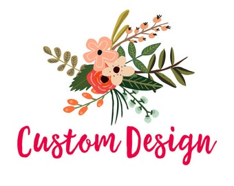 Custom Design Work Website Blog Business Logo Branding- CONVO FIRST!!
