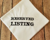 RESERVED for jabamburg7