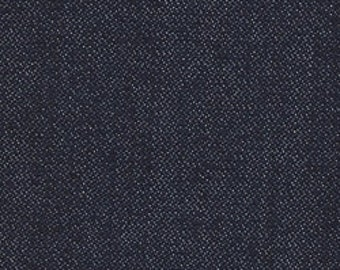 Indigo Denim Woven Fabric (One Yard)