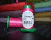 1 Spool - Isacord 40 Thread, Polyester, 1094 yds., Embroidery Thread 2922 / 2532  Pink