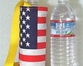 American flag Water Caddy,