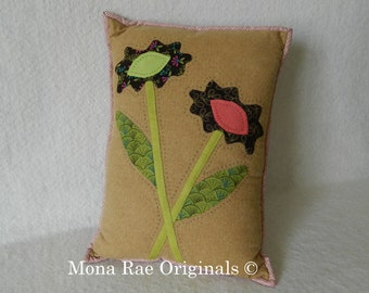 "Everlasting Flowers Pillow ~ 12"" x 15"" Flower Pillow ~ Mothers Day Gift"