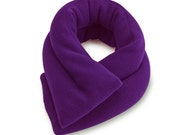 Lavender Purple Microwave Heat Neck Wrap, 26x5, Rice, ExtraLong & wide, Heating Pad, Neck Shoulder Back Hot Cold