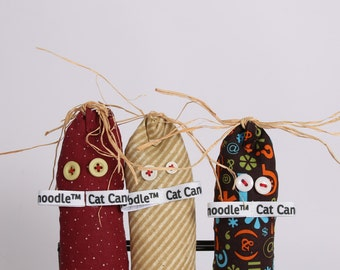 Cat Canoodle an Innovative Catnip Kicker Toy for your Cat. Cute Catnip Toy