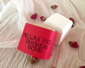 Relaxing Shower Bomb - Valentine's Edition - Spa Treatment – Aromatherapy – Steam Therapy