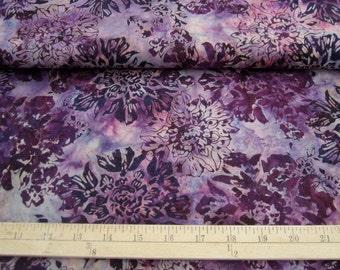 Hoffman N2817-91 Amethyst - 100% cotton batik from Bali Indonesia - sold per yard