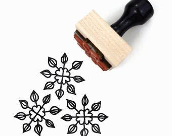 Rubber Stamp Pointed Pattern - Hand Drawn Geometric Pattern Stamp