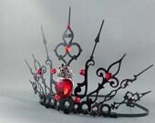Custom Queen of Hearts Crown