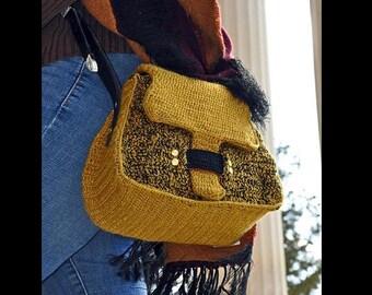 Fall handbag , custom pocketbook , luxury handbag , Ladies shoulder bag