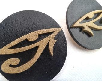 Eye of Horus Earrings - Eye of Ra Earrings - Eye of Horus Jewelry -Wedjat