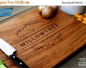 10% OFF THRU FEB Personalized Cutting Board Engraved Custom - Wood Cutting Board -   Wedding Gift, Housewarming Gift, Anniversary Gift - Per