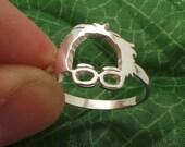 Silver Bernie Sanders Ring - Bernie Sanders Jewelry - President Ring - Political Ring - Unisex Birdie Sanders Ring - Etsy bernie ring