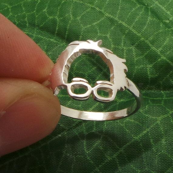silver bernie sanders ring bernie sanders jewelry by yhtanaff