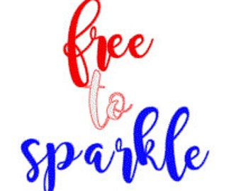 Free to Sparkle Glitter Onesie and Bow set