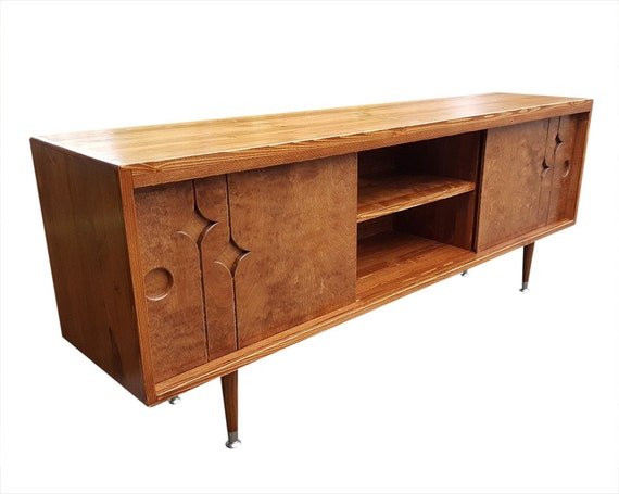 Mid Century Media Console Made To Order
